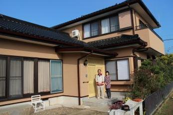 外壁、家の中も明るく綺麗になって家族の気持ちも明るくなりました。